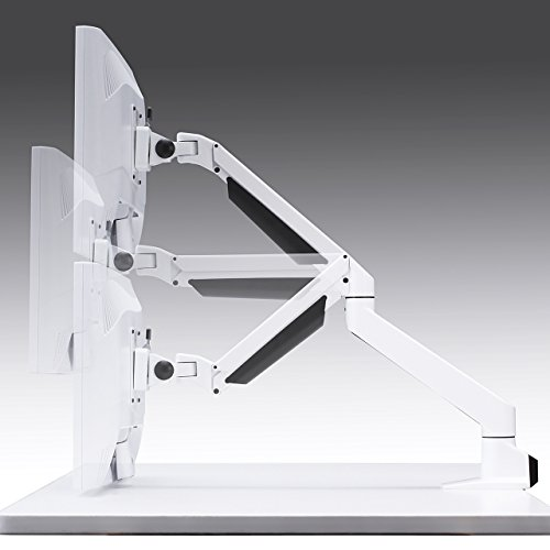 サンワサプライ水平垂直多関節液晶モニターアーム(白)CR-LA1301WN