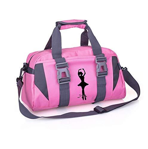 Girls Ballet Dance Duffel Bag Kids Gymnastics Duffle Bag Sport Gym Bags