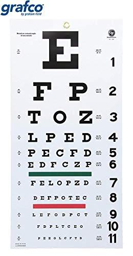 10 feet eye chart - 8