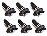ENA Set of 6 Ignition Coil Pack Compatible with Chevrolet GMC Olds Saab Isuzu Trailblazer Envoy Rainer Colorado Canyon Replacement For UF303 C1395 UF-303