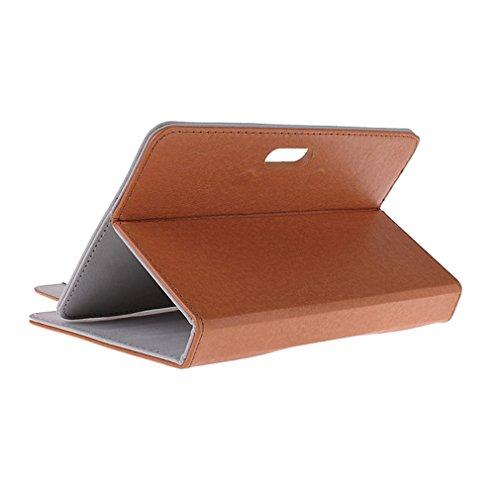 BRALEXX Universaltasche für Tablet PC passend für i.onik TP Serie 1 - 7 Zoll, Braun 7 Zoll