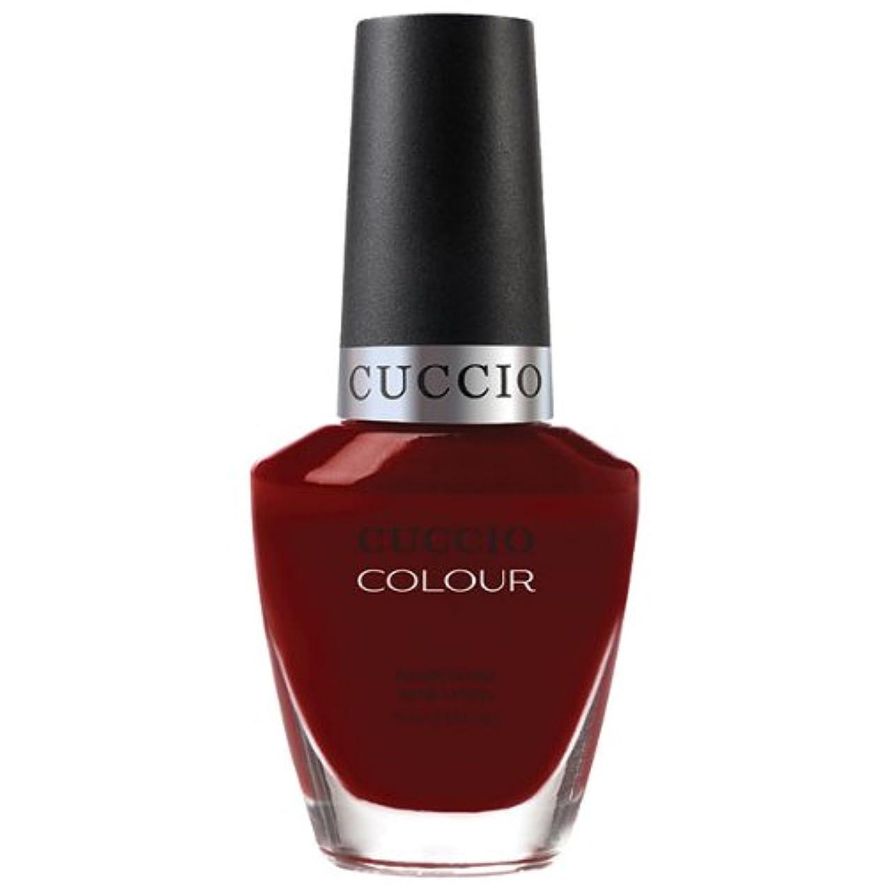 風が強い矢委託Cuccio Colour Gloss Lacquer - Red Eye to Shanghai - 0.43oz / 13ml