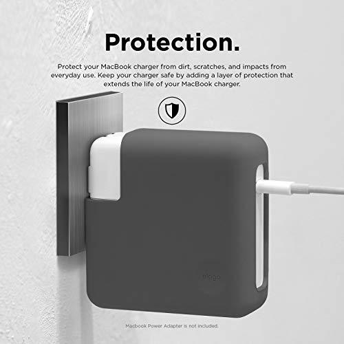 elago Power Adapter Netzteil Ladegerät Silikon Hülle Kompatibel mit Apple MacBook Pro 2019 16