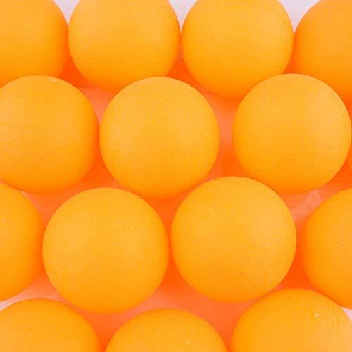 BIGTREE Lot de 100 Balles de Tennis Jaune de Table...
