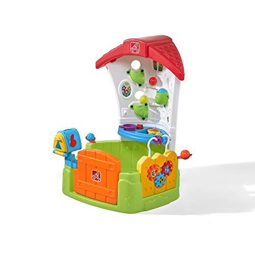 Step2 Toddler Corner House Spielhaus mit Bällen   Kinder Spielzeug mit 15-teiligem Zubehör Set inkl. Bälle   Kinderspielzeug aus Kunststoff