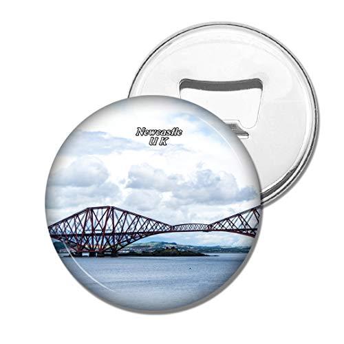 Weekino Großbritannien England Tyne Bridge Newcastle Bier Flaschenöffner Kühlschrank Magnet Metall Souvenir Reise Gift