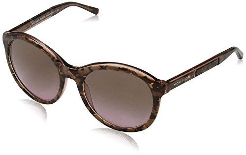 Michael Kors Damen Mae 325114 54 Sonnenbrille, Pink (Pink Tort Graphic/Brown Rose Gradient)