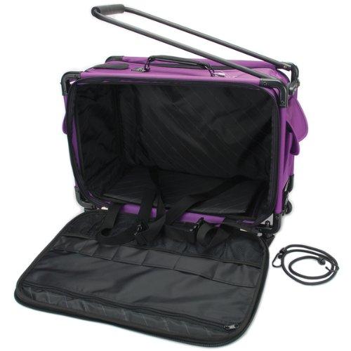Best Bargain TUTTO Machine On Wheels Case 21X13-1/4X12-Purpl 1 pcs sku# 644844MA