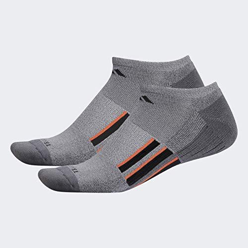 adidas Onix - Calcetines acolchados para hombre X II (2 pares), Onix - Light Onix Marl/Onix/Negro/Light Onix/Active, talla grande (zapatos 6-12)