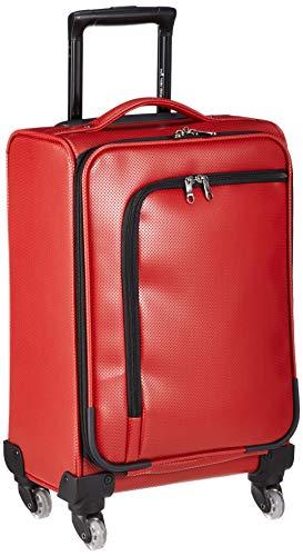 [ヒデオワカマツ] スーツケース ソフト アイラ 4輪 機内持ち込み可 85-76490 28L 55 cm 2.7kg レッド