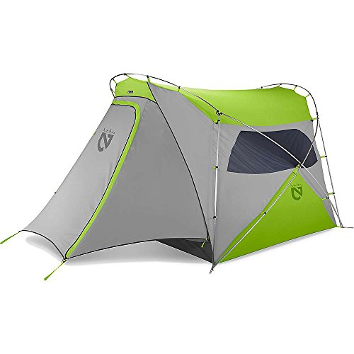 Nemo Wagontop 4P Tent - the only tent here with a vestibule.