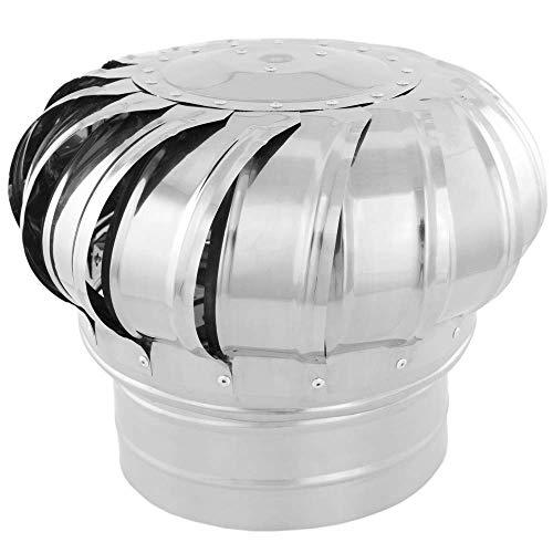 PrimeMatik - Sombrero Extractor de Humos galvanizado Giratorio para Tubo de 200 mm de diámetro