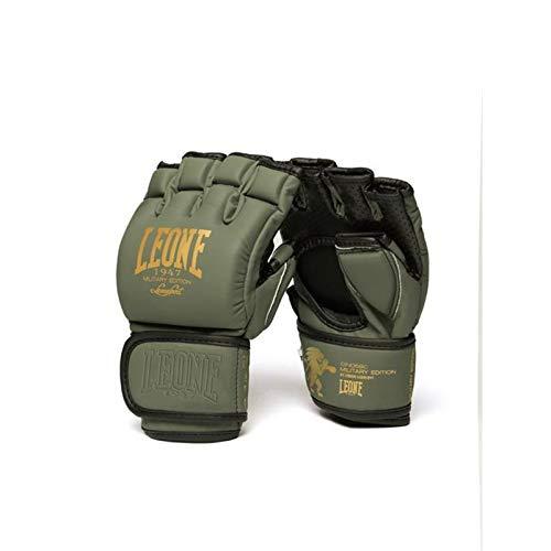 Leone 1947 - Guanti MMA Military Ed. Guanti MMA, Unisex – Adulto, verde, s