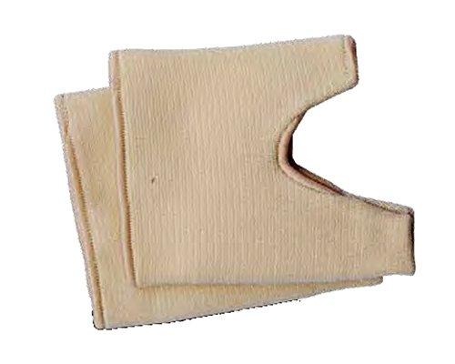 FabaCare Spreizfußbandagen elastisch mit Gel-Schutzabdeckung, Fußbandage für 2 Zehen, Mittelfußbandage, Bandage zur Linderung und Vorbeugung bei Hallux Valgus