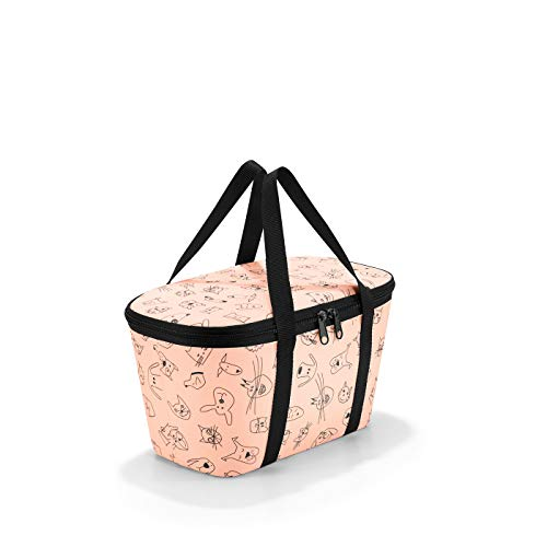 Reisenthel XS Kids Cats and Dogs coolerbag Rose 4 L