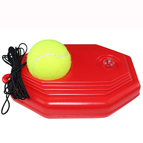 Purchase NACHEN Solo Tennis Tennis Trainer Rebound Ball with Base Rope, Fill & Drill Tennis Trainer ...