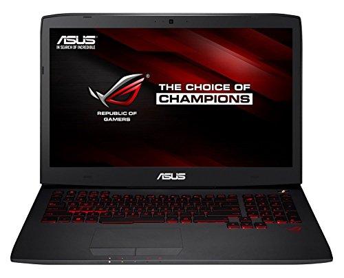 Asus ROG G751JT-T7178T 43,9 cm (17,3 Zoll mattes FHD ) Laptop (Intel Core i7-4720HQ, 8GB RAM, 1TB HDD+ 256GB SSD, NVIDIA GeForce GTX 970M, Blu-ray, Win 10 Home) schwarz