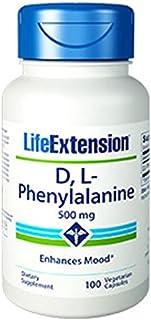 D,L-Phenylalanine Capsules 500 mg, 100 Vegetarian Capsules-Pack-3