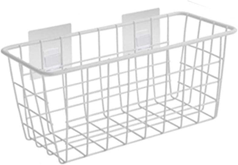 GONGFF Wrought Iron Oakland Mall Storage Rapid rise Rack Basket Fre Wall-Mounted