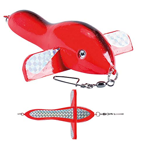 Sugoi Aereoplanino Airfish Rosso da traina 10cm