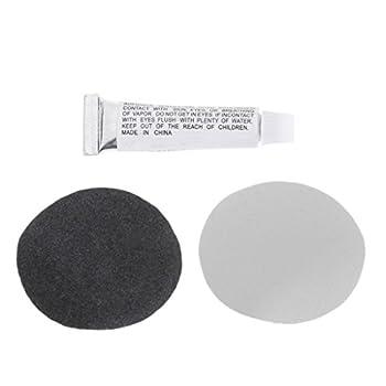 ZZALLL 1 pièces PVC Gonflable lit pneumatique Bateau canapé Kit de réparation Patchs Colle pour Matelas pneumatique