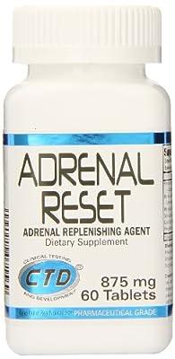 CTD Sports Adrenal Reset, 60 tabs
