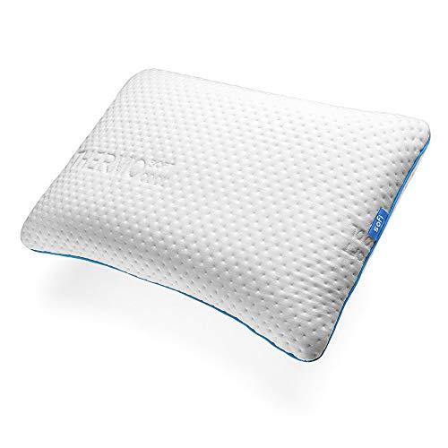 sofi Cuscino per cervicale in Memory Foam - Cuscino cervicale Ortopedico - Cuscino per Dormire sulla Schiena - 60 x 40 x 12 cm