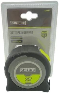 25 ft. Master Max 54% OFF Measure Mechanic Surprise price Tape