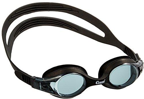 Cressi Kinder Dolphin 2.0 Premium Schwimmbrille, Schwarz, Einheitsgröße