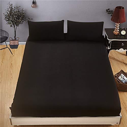 XiaomiziLussuoso cuscino inferiore e orlo elastico si adattano al tuo letto, ipoallergenico, le lenzuola traspiranti sono molto morbide.