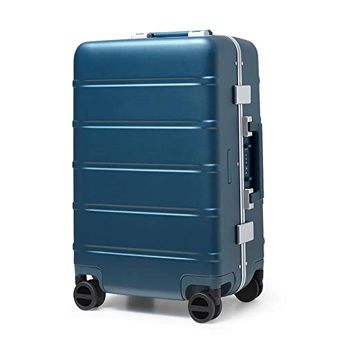 Bewinch Hard Shell Suitcase,Hold Luggage Suitcas,20 Inch, Carry on Hand Cabin Luggage Travel Trolley Lightweight Durable 4 Spinner Wheels,Blue