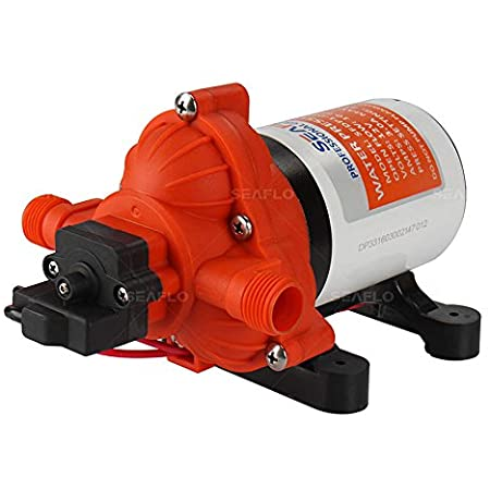 Seaflo 12V 3.0 GPM 45 PSI Water Diaphragm Pressure Pump - 4 Year Warranty!!!