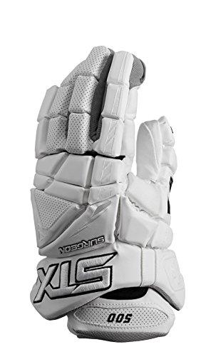 Stx Lacrosse chirurgien 500Gants avec Climate Control, blanc
