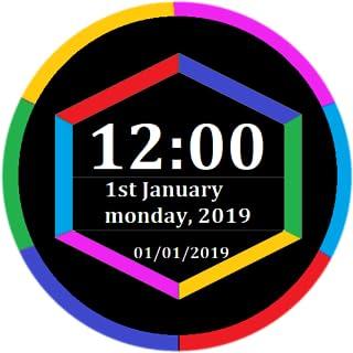Digital Time Date Clock