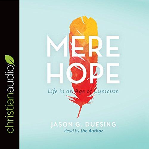 Mere Hope audiobook cover art