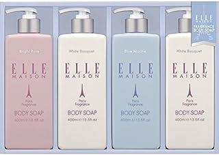 ELLE MAISON ボディソープギフト EBS-20 【保湿 いい匂い うるおい 液体 しっとり 良い香り やさしい 女性 贅沢 全身 美肌 詰め合わせ お風呂 バスタイム 洗う 美容】