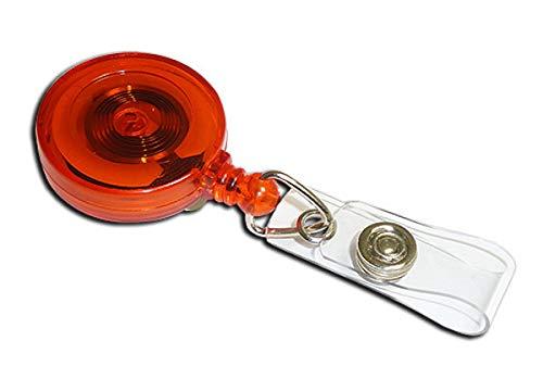 Ingenia AC217E-ST-OR - Yoyo Jazz con clip de cinturón y ID strap,...