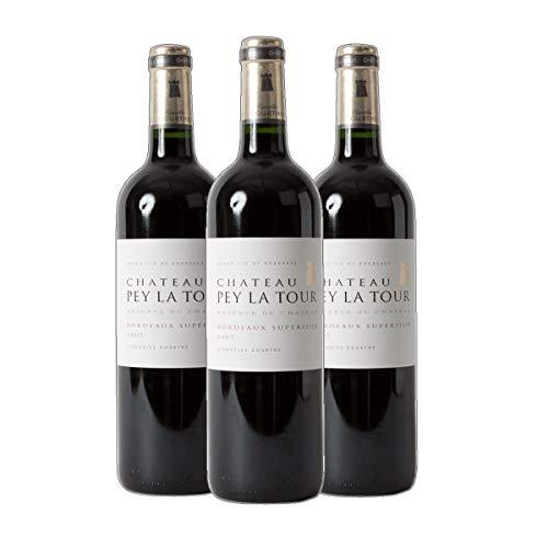 Château Pey la Tour Reserve Bordeaux Superieur A.C Rotwein Frankereich 2017 trocken (3x 0.75 l)