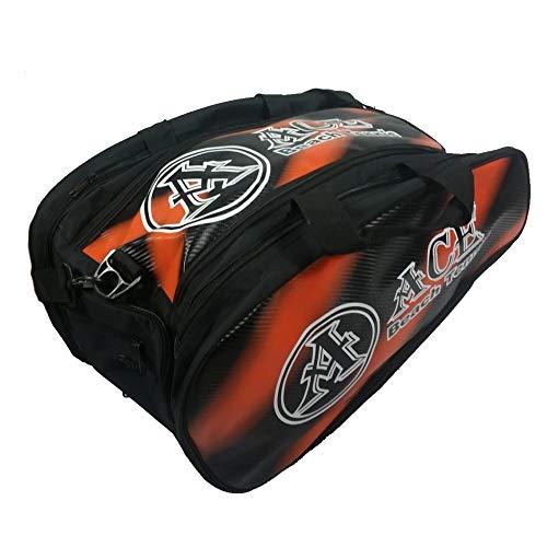 ACE Beach Tennis Borsa Bag Borsone Zaino Portaracchette Grande Orange