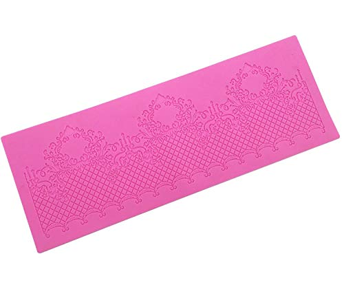 Stampo in silicone a forma di pizzo, per decorazioni di torte nuziali, per pasta di zucchero, pasta di zucchero, biscotti