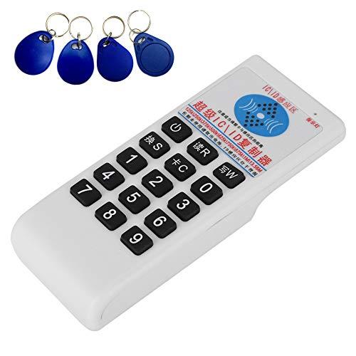 Mavis Laven RFID-kaartlezer, handheld-IC/ID-kaarthouder, kopieerapparaat, duplizer voor IC-ID-kaarten, 125 kHz, 13,56 MHz
