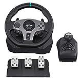 PC Racing Wheels PXN V9 270/900°Game Racing Wheel, PS4...