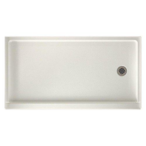 Swanstone FR03260RM.018 Veritek Right Hand Drain Shower Base, 60-in L X 32-in H X 4.3125-in H,...