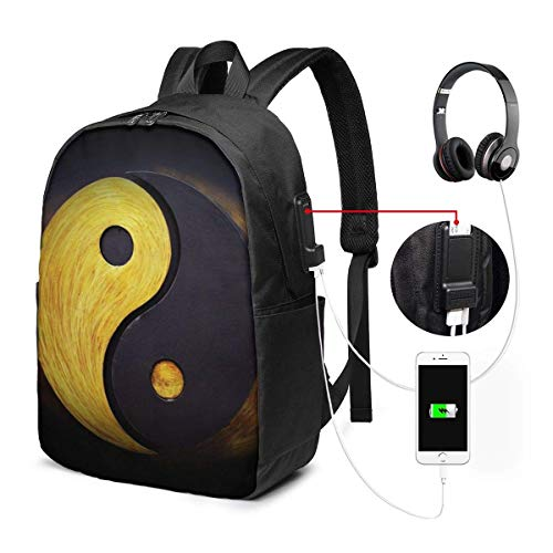 Cartoon Alpaca Fashion Travel Backpacks for Men and Women, School Laptop Bookbags with USB Charging Port Fit 17 Inch