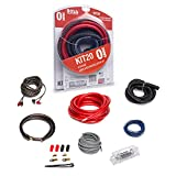 BOSS Audio Systems KIT20 0 Gauge Amplifier Installation Wiring Kit - A Car Amplifier Wiring Kit Helps You Make Connections and Brings Power to Your Radio, Subwoofers and Speakers