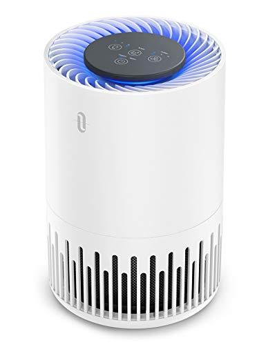 TaoTronics Luftreiniger TT-AP001 Air Purifier mit 3-in-1 HEPA Filter 4 Lüfterstufen 99,97{d85833b677b56ccee47544a13ccf95fb593ba7b6234b122a0a9c708609ba4b46} Filterleistung Leiser Betrieb gegen Staub Pollen Tierhaare