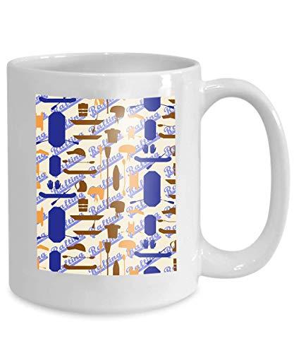 N\A Taza de café, Taza de café Divertida, Regalo, Rafting, artículos Deportivos, Silueta, Conjunto de Iconos, Textura Transparente, Remo, Remo, Balsas, cataraft, Inflable, Kayak, paletas, Casco
