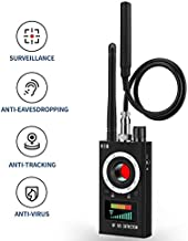 Camera Detector Wireless Bug Detector for Hidden Camera Audio, RF Anti Spy Detector LDE Laser Technology Camera Finder for Anti-Listening/Sneak Shot/Tracking, Camera Finder for Meeting/Car/Hotel