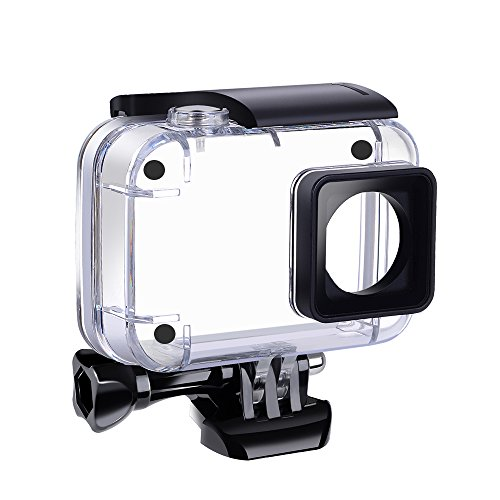 Suptig Waterproof Case Underwater Waterproof Protective Housing for Yi 4K Action Xiaomi 4K Xiaoyi 4K Yi 4K+ Yi Discovery Action Cameras