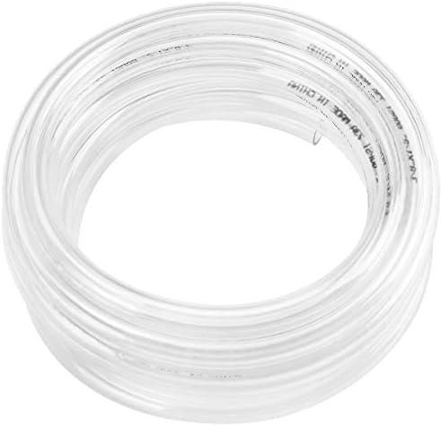 50ft x 5 16 ID Clear Vinyl Tubing Flexible Hybrid PVC Tubing Hose Lightweight Plastic Tube UV product image